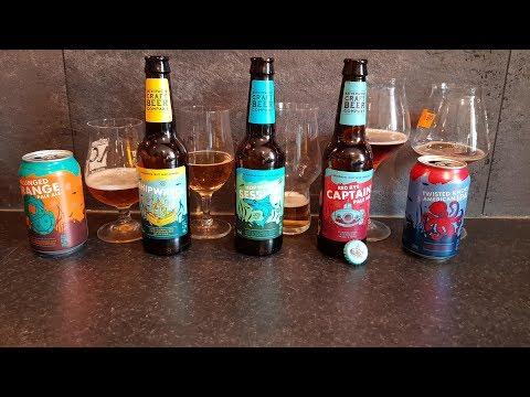 Tasting The New Lidl Craft Beer Range With Tomasz Kopyra | Craft Beer Review