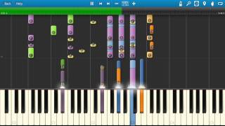 Spandau Ballet - Gold Piano Tutorial - How to play - Synthesia Cover