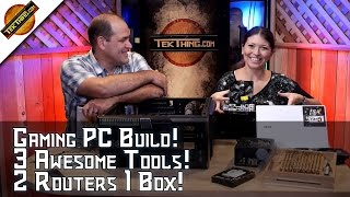 Gaming Pc Build! Skip Usb 3.1? 3 Awesome Measuring Tools, Two Routers One Box: Linux Route Command!