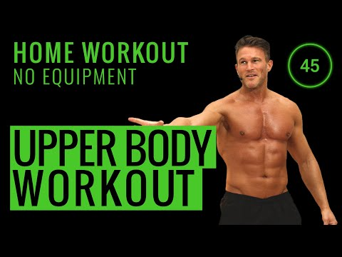 10 MINUTE HOME WORKOUT UPPER BODY 💪 | No Equipment Home Workout