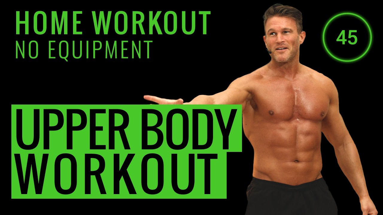 10 Minute Home Workout Upper Body No Equipment Home Workout Youtube