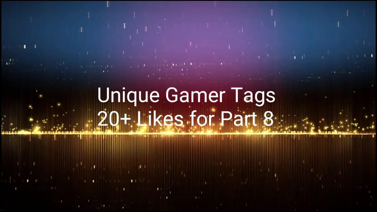 Unique gamertags