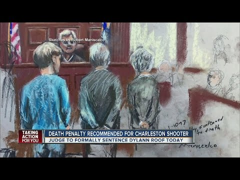 Death penalty recommended for Charleston church shooter Dylann Roof