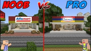 MINECRAFT: NOOB VS PRO - INDOMARET VS ALFAMART