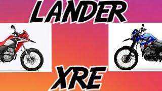 Lander 250 E XRE 300 Desinformação Deixam Duvidas Para Muitos Irmãos.