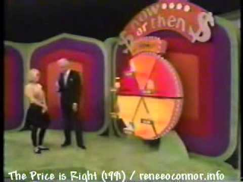 Renee O'Connor  The Price is Right Part 1