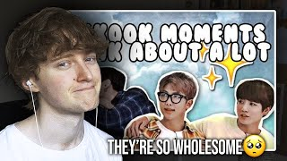 THEY'RE SO WHOLESOME! (namkook moments i think about a lot | Reaction/Review)