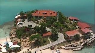Saint Barthélemy-Guadeloupe : le rocher de l'Eden