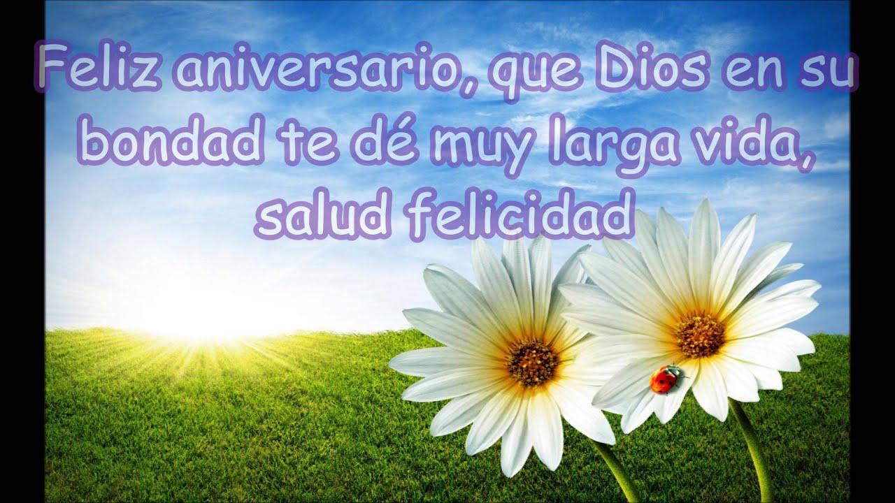 Mensajes De Feliz Aniversario Cristiano