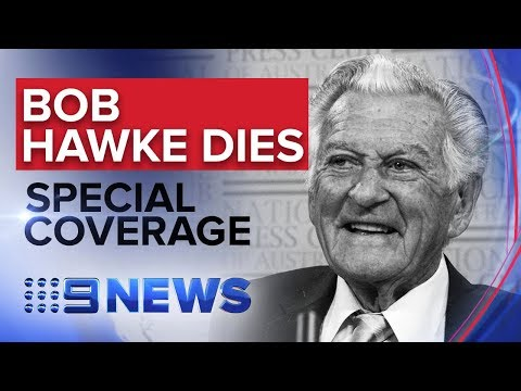 PART 1: Special coverage following death of Bob Hawke | Nine News Australia