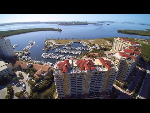 Cape Coral Florida by Drone/The Westin Cape Coral Resort at Marina Village