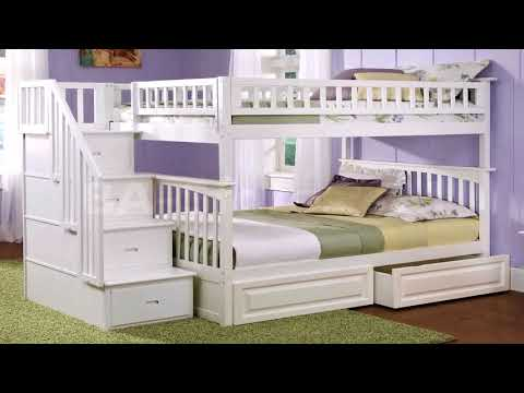 full-size-bunk-bed-plans-with-stairs-(see-description)