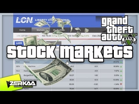 GTA V | How To Make Money Using The Stock Market (GTA 5 Tips & Tricks)