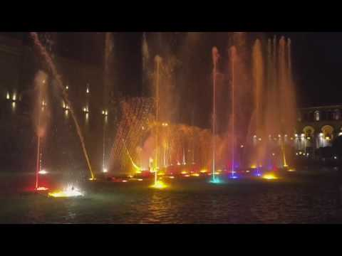 NEWS.am STYLE presents/ dancing fountains of Republic Square in Yerevan