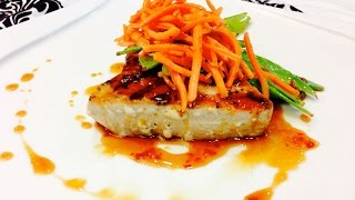 Low Calorie Healthy No/low Carb Ahi Tuna Steaks!