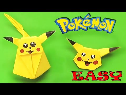 HOW TO MAKE AN ORIGAMI PIKACHU - YouTube | 360x480