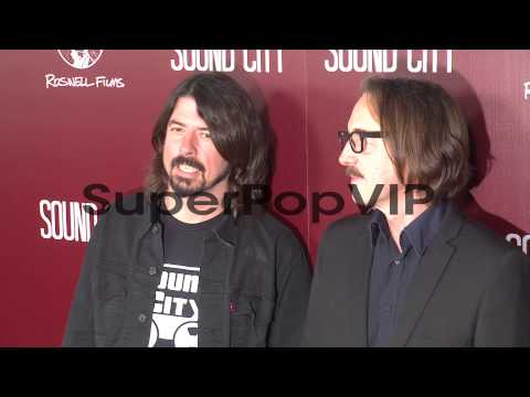 Dave Grohl, Butch Vig at Sound City Los Angeles Premiere ...