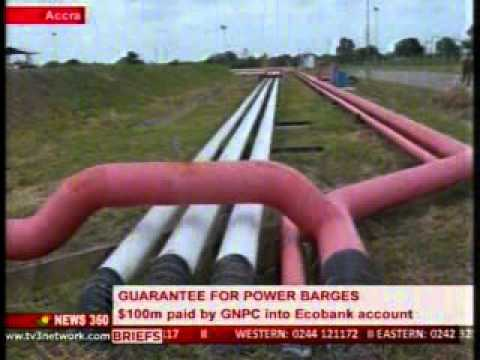 News360 - ECG & Ecobank final paper work for power barges payments -15/10/2015