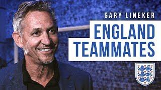 "Gary Lineker   ""Gazza was playing tennis with German tourists!""   England teammates"