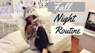 Fall Night Routine/Erika Doumbova/Вечерна Рутина/Ерика Думбова