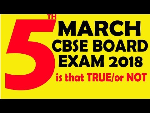 cbse 12th date sheet 2018 | cbse 10th date sheet 2018 | BY UR PERSONAL CONSULTANT