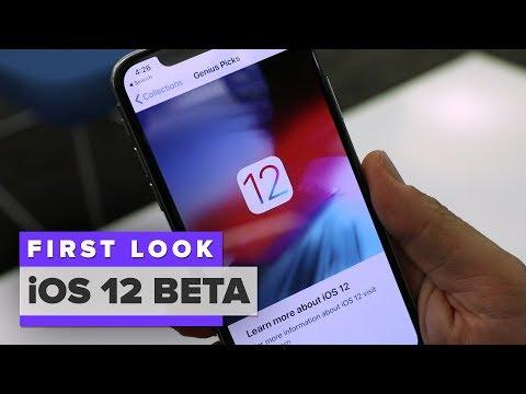 iOS 12 public beta: First Look