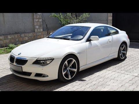BMW 650 в кузове E63! 4.8 литра.