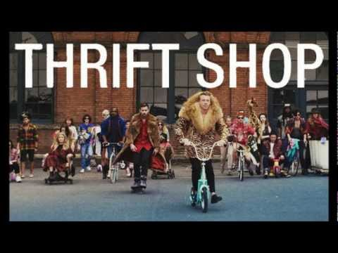 Macklemore & Ryan Lewis - Thrift Shop (Ft. Wanz) (LYRICS) (HQ)