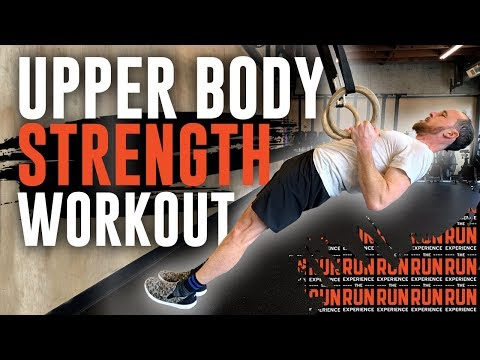 Upper Body Strength Workout For Runners