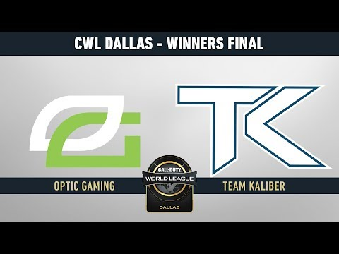 OPTIC GAMING VS TEAM KALIBER - FINAL WINNER BRACKET - #CWLDALLASLVP