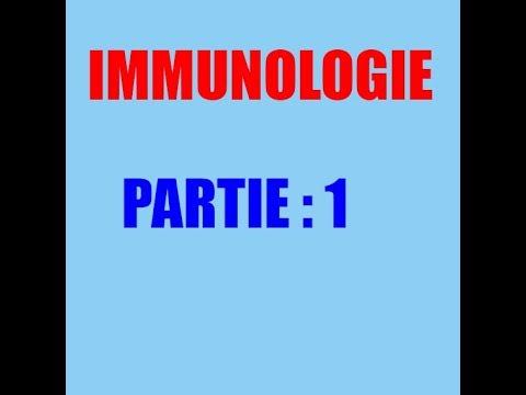 cours d'immunologie partie 1:système immunitaire naturelle  système immunitaire adaptatif