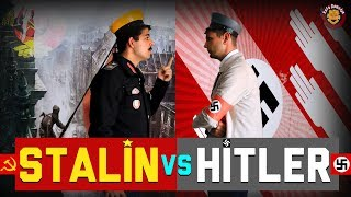 Joseph Stalin Vs Adolf Hitler  Nazi Vs Komünist  - Rap Savaşları  Eng. Sub