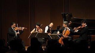 ヘーデンボルク・トリオと、サントリーホール室内楽アカデミー生の共演「ブラームス:ピアノ五重奏曲 ヘ短調 作品34より第1楽章」2017年9月23日<サントリーホール チェンバーミュージック・ガーデン>