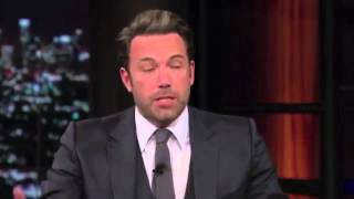 "Ben Affleck ""We Are Endowed by Our Forefathers with Inalienable Rights"""