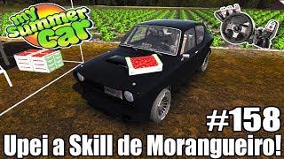 My Summer Car - QUANTO GANHA UM VENDEDOR DE MORANGOS? #158 ‹ Getaway Driver ›