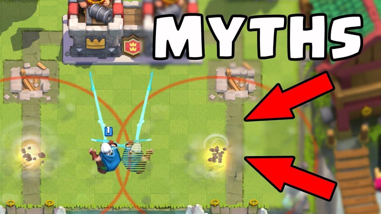 Os 10 melhores Caça-Mitos em Clash Royale | Mitos # 10 + vídeo