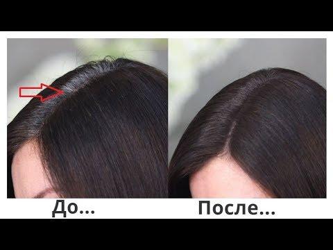 Как закрасить седину на темных волосах в домашних условиях