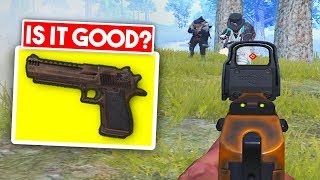 WINNING WITH THE DESERT EAGLE? | PUBG Mobile
