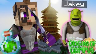 "Origins of Olympus #37 - ""I TURNED HIM INTO SHREK?"" (Percy Jackson Minecraft Roleplay)"