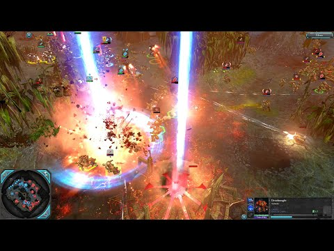 Black Templars and Grey Knights vs Chaos Space Marines - Destroyer Mod, Warhammer 40K: Dawn Of War 2 |