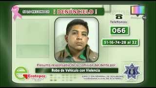 Detienen a dos Robacoches en Jardines de Morelos