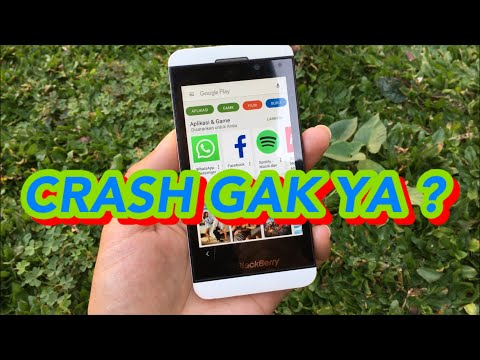 Install Google Play Store Di Blackberry Z10