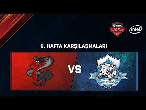 Dark Passage.Dominos vs. Sons of Snakes  6. Hafta  ESL Türkiye Şampiyonası Lig Aşaması