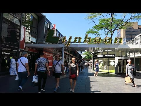 The Netherlands : Lijnbaan shopping street - Rotterdam