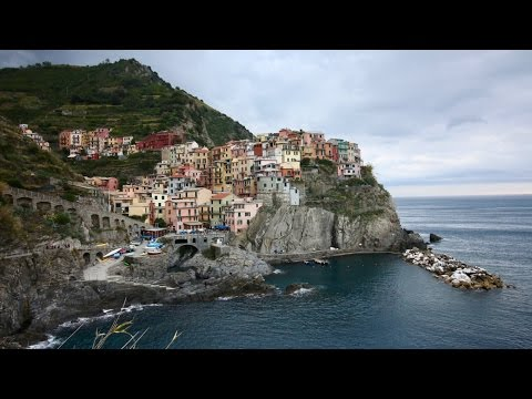 EATING IN CINQUE TERRE AND SHOPPING IN MILAN