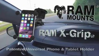 American Van Equipment - Phone and Tablet Mounts - RAM X-Grip