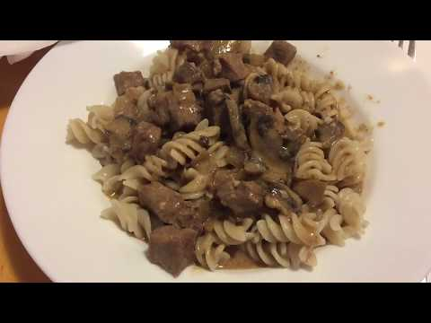 Beef Stroganoff in an Instant Pot - Slow Cooker Mode, - Ronda in the Kitchen