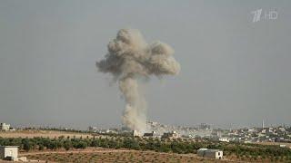 США в нарушение всех ранее достигнутых договоренностей нанесли удар по зоне деэскалации Идлиб.