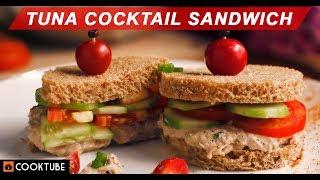Tuna Cocktail Sandwich Recipe | Tuna Salad Sandwich Recipe | How to make Tuna Sandwich