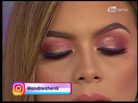 Aprenda a maquillarse en tonos rosas